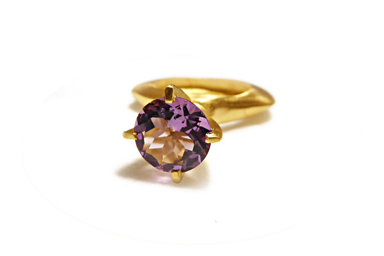 Catherine Marche jewellery passionata amethyst ring