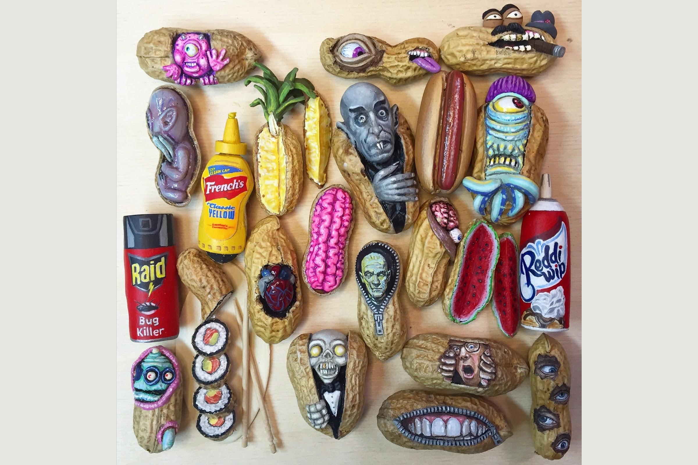 Steve Casino Peanut art collection featured