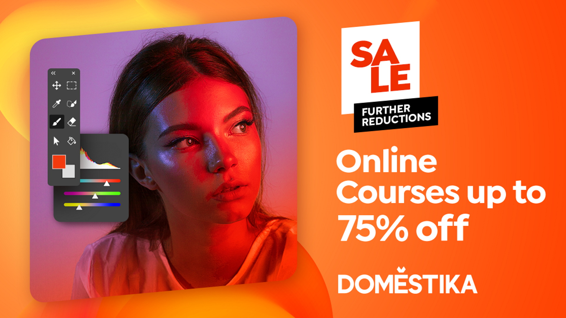 Domestika sales and discounts