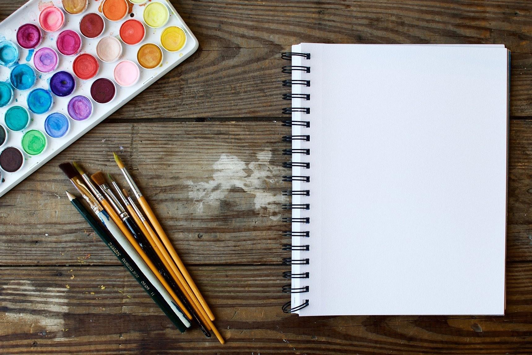 Watercolor sketchbook featured